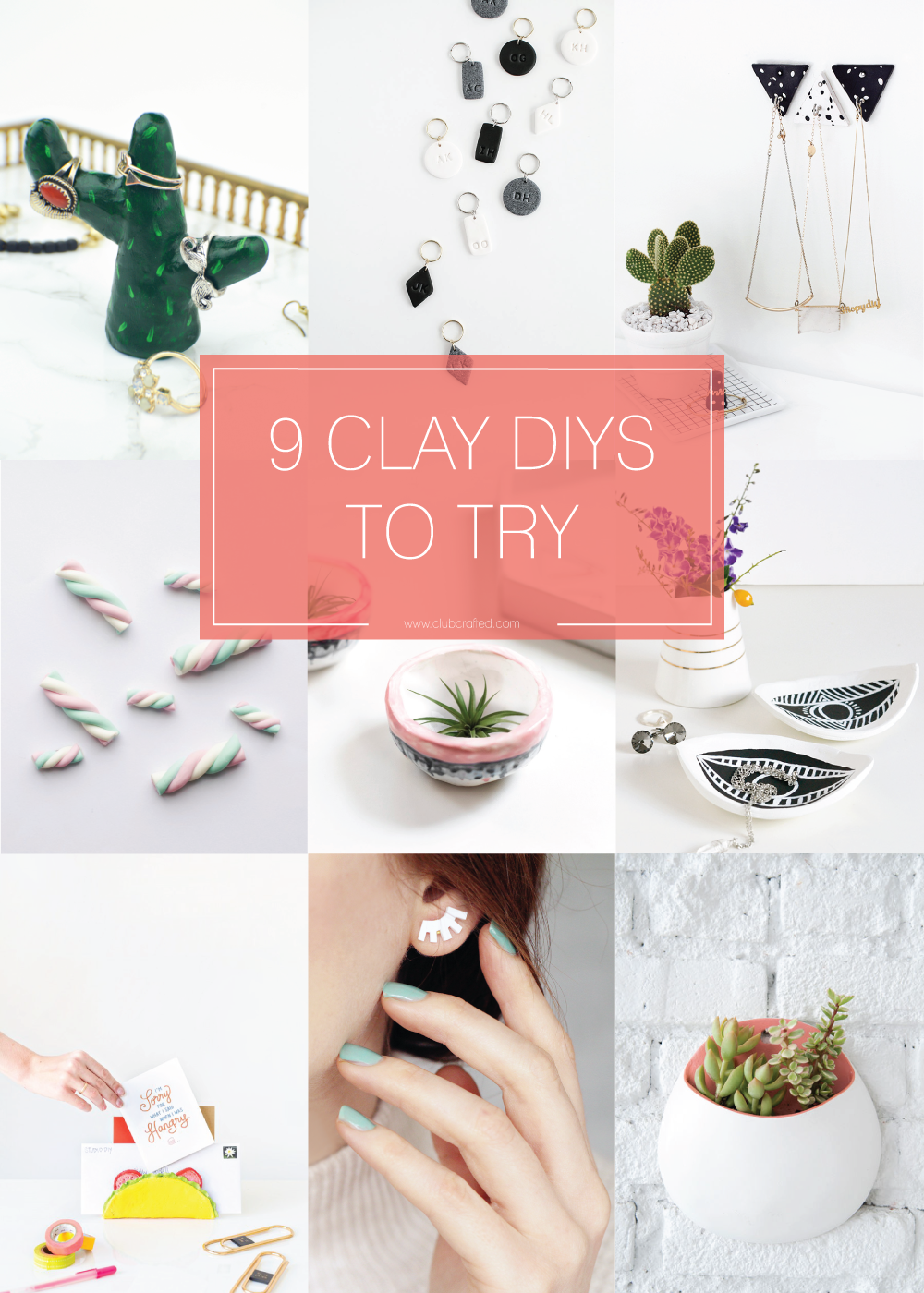 9 Clay DIYs to Try / Club Crafted
