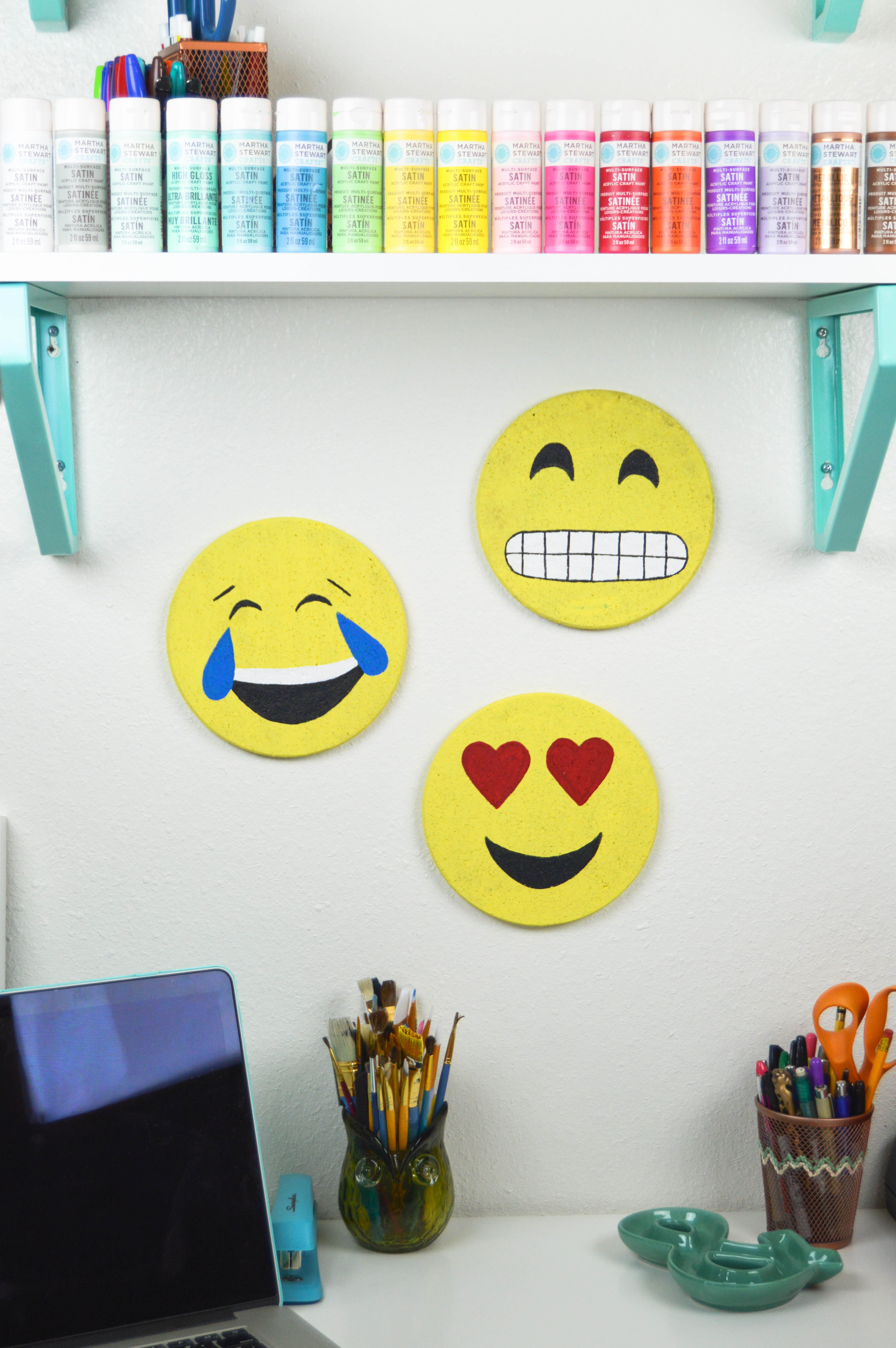 DIY Emoji Cork Boards (IKEA Hack!)