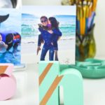 DIY Wood Alphabet Photo Holder