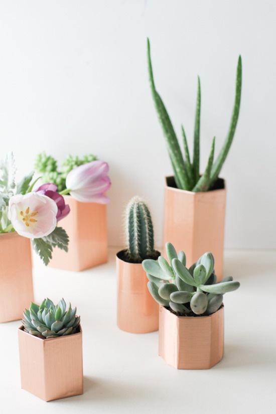 5-minute-copper-planter-diy