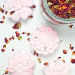 DIY Floral Bath Bombs