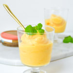 Peach Lemonade Sorbet Recipe