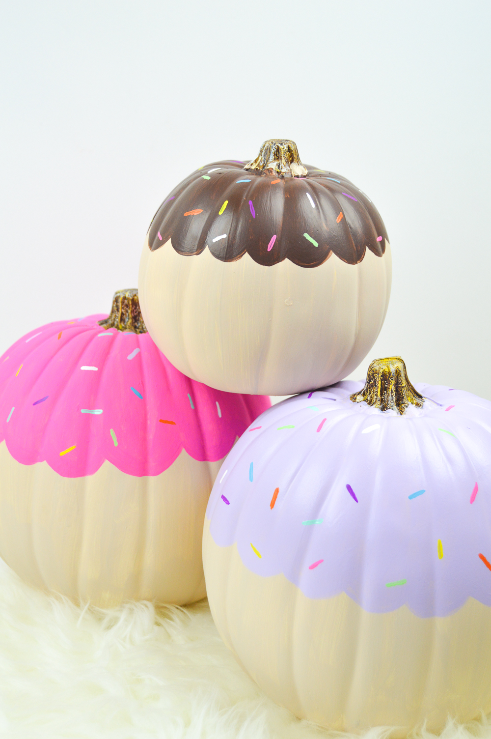 DIY Cupcake Pumpkin Decorations