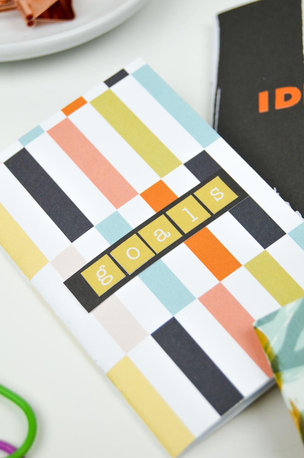 DIY Mini Notebooks | www.clubcrafted.com