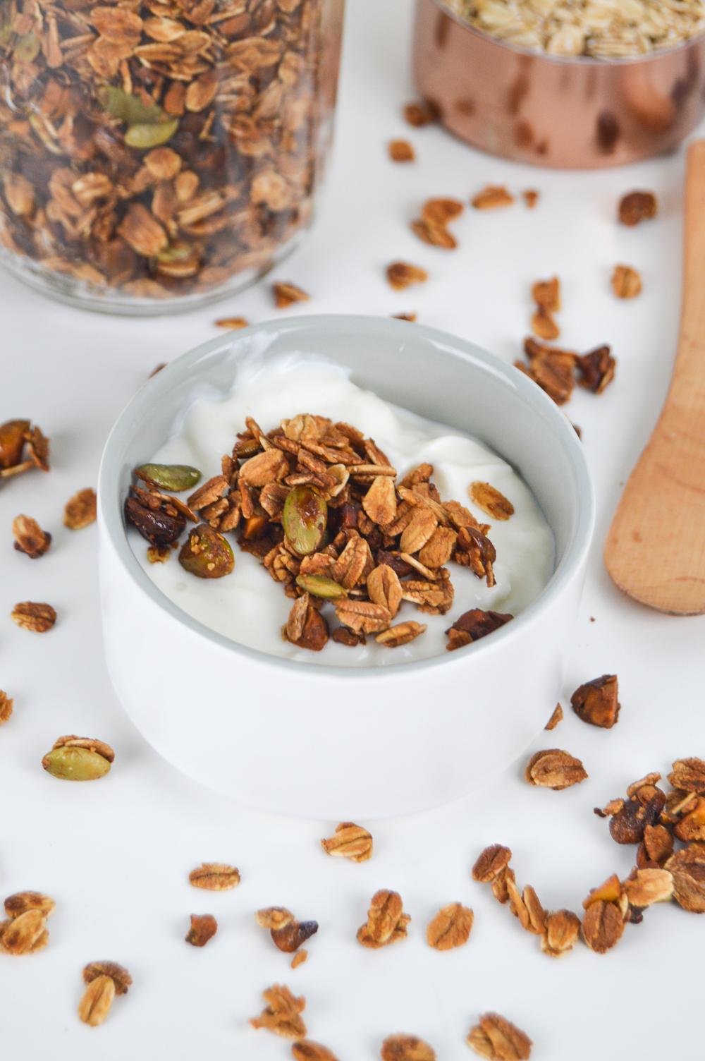 Honey Pistachio Granola