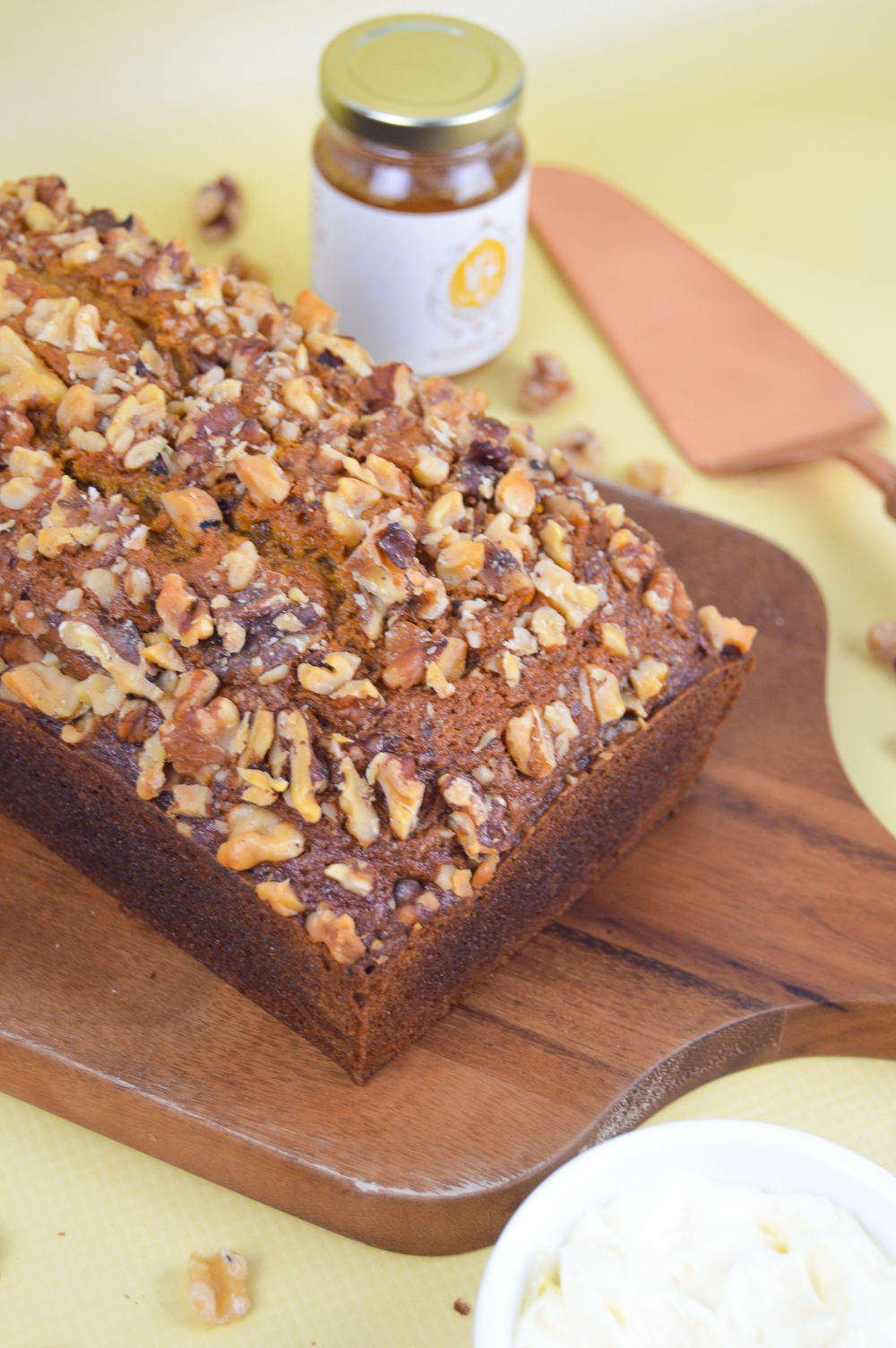 Pumpkin Bread with Whipped Honey Butter - Club Crafted