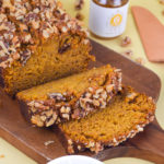 Pumpkin Bread with Whipped Honey Butter