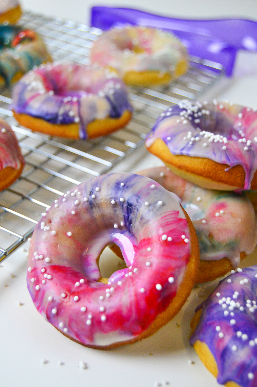 Marbled Donuts | Club Crafted