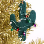 DIY Cactus Christmas Ornament