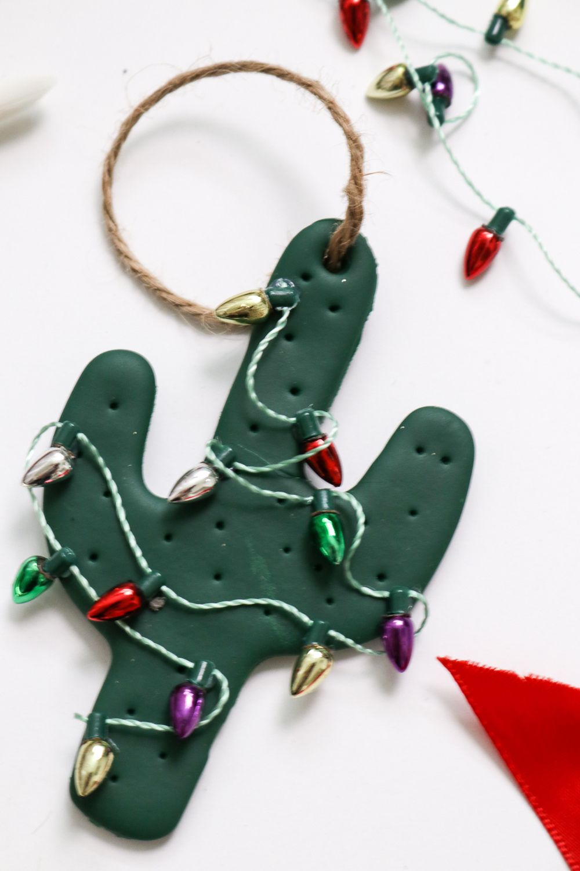 DIY Cactus Christmas Ornament | Club Crafted
