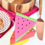 DIY Printable Fruit Slice Pie Boxes