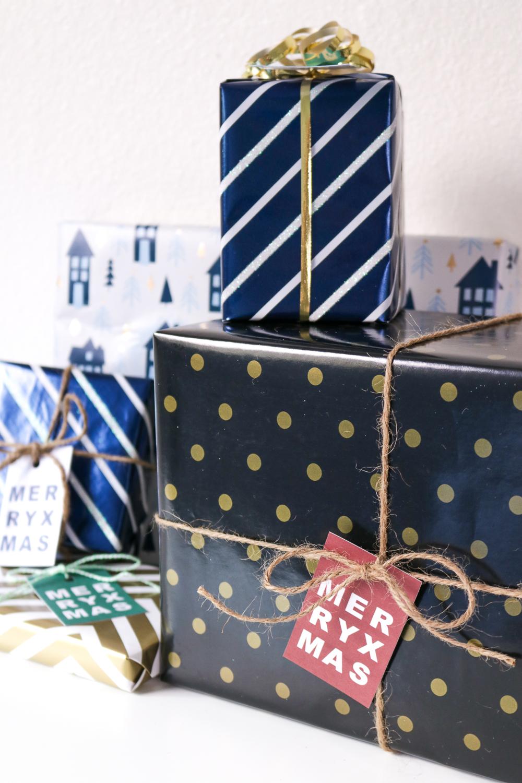 DIY Printable Gift Tags for Christmas | Club Crafted