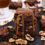 Bourbon Walnut Brownies