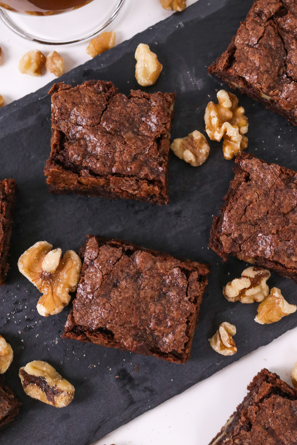 Bourbon Walnut Brownies Club Crafted