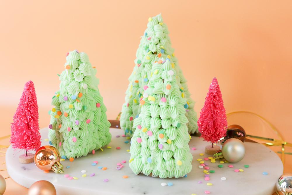 3d Gingerbread Trees