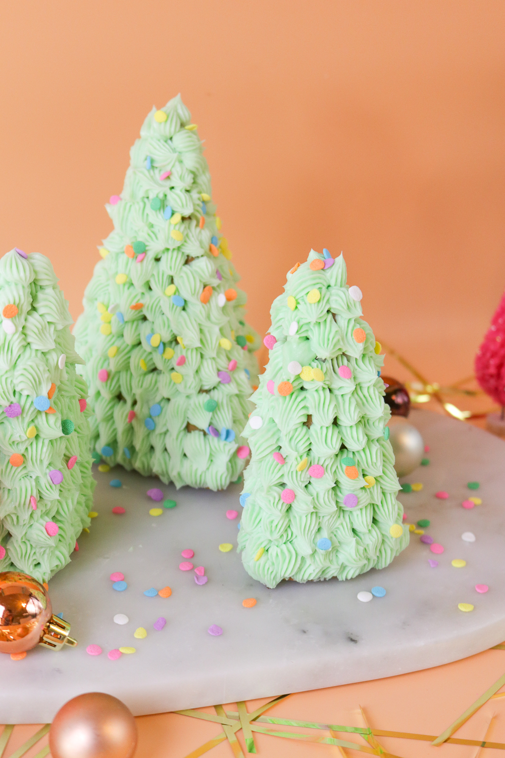 3D Gingerbread Trees | Club Crafted