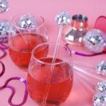 DIY Disco Ball Drink Stirrers
