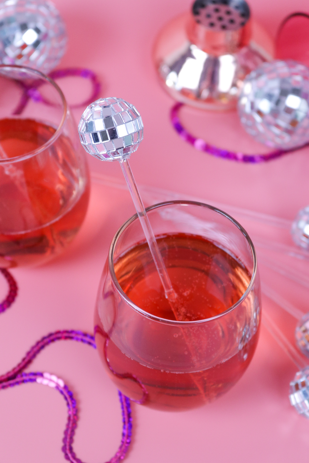 DIY Disco Drink Stirrers | Club Crafted