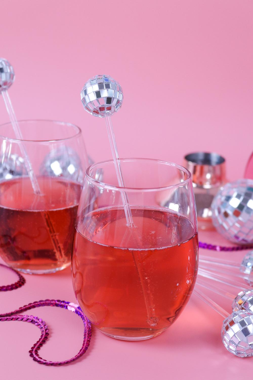 DIY Disco Drink Stirrers | Club Crafted