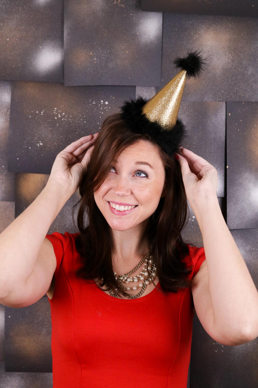 DIY New Year's Headbands: 3 Ways | Club Crafted