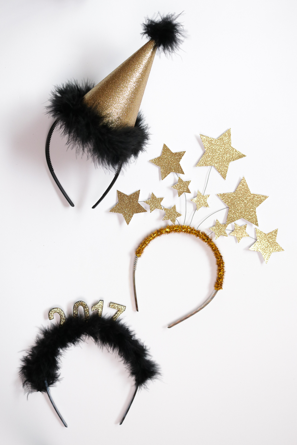 DIY New Year's Headbands: 3 Ways | Club Crafted