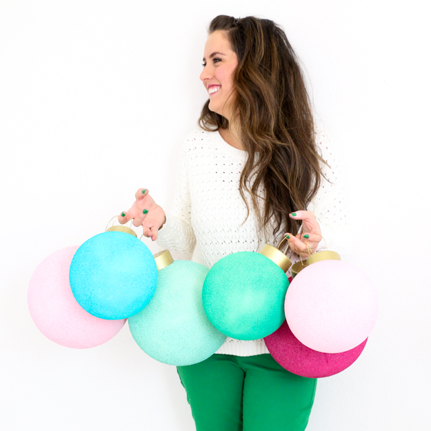 Huge Colorful Ornaments by A Kailo Chic Life