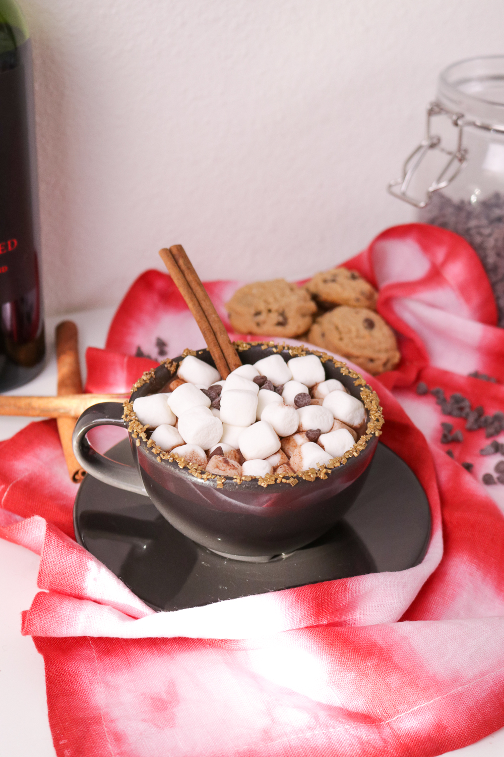 Red Wine Hot Chocolate | Club Crafted
