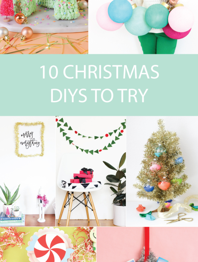 10 Last-Minute Christmas DIYs to Try this Weekend | Club Crafted