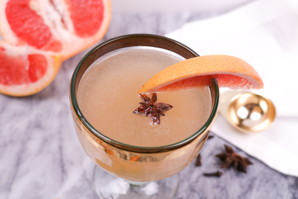 Spiced Grapefruit Cocktail | Club Crafted