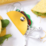 DIY Taco Headphone Organizer
