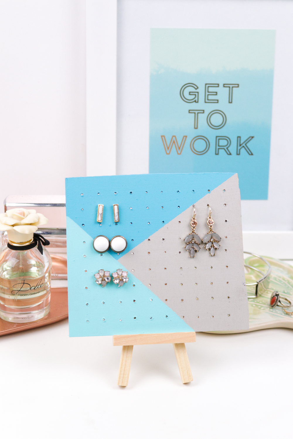 Jewelry Storage: DIY Wood Earring Board | Club Crafted