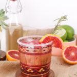 Rosemary Blood Orange Margarita