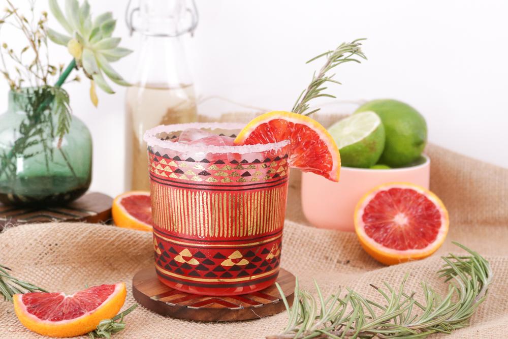 Rosemary Blood Orange Margaritas   Club Crafted