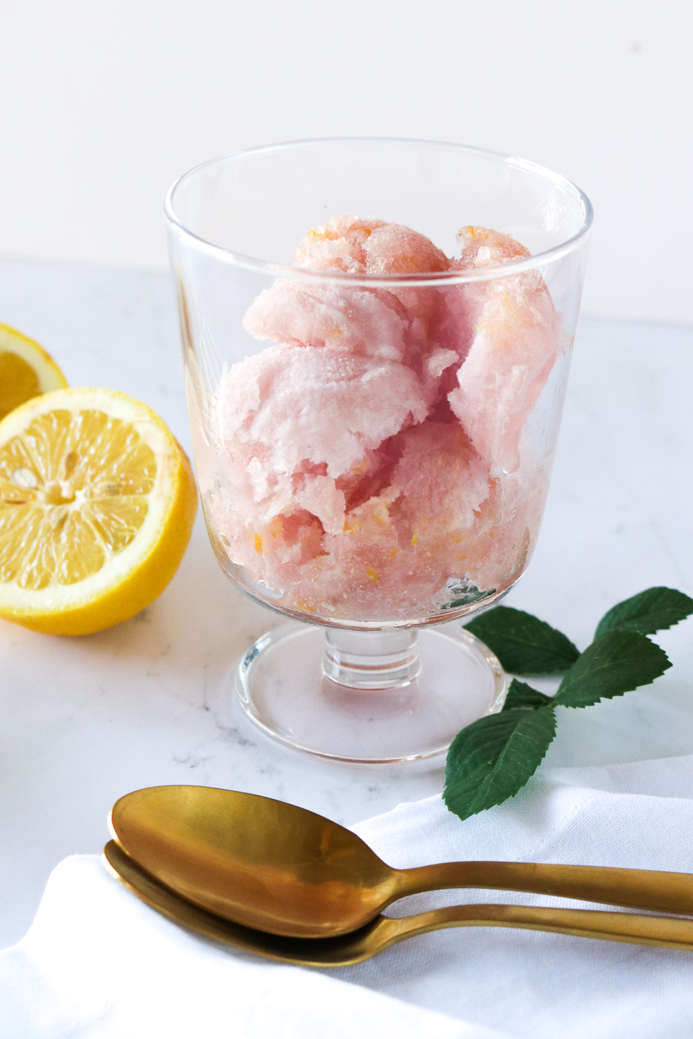 Lavender Lemonade Sorbet | Club Crafted
