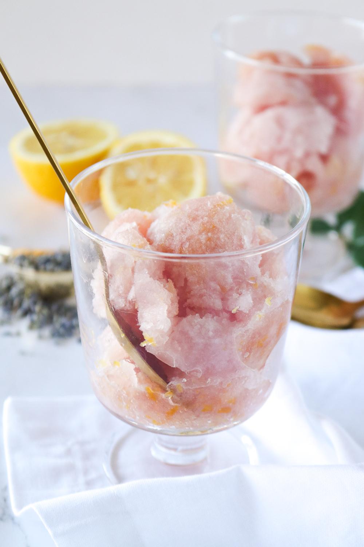 Lavender Lemonade Sorbet   Club Crafted
