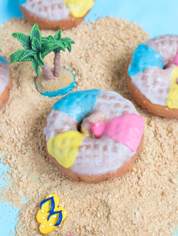 Beach Ball Donuts