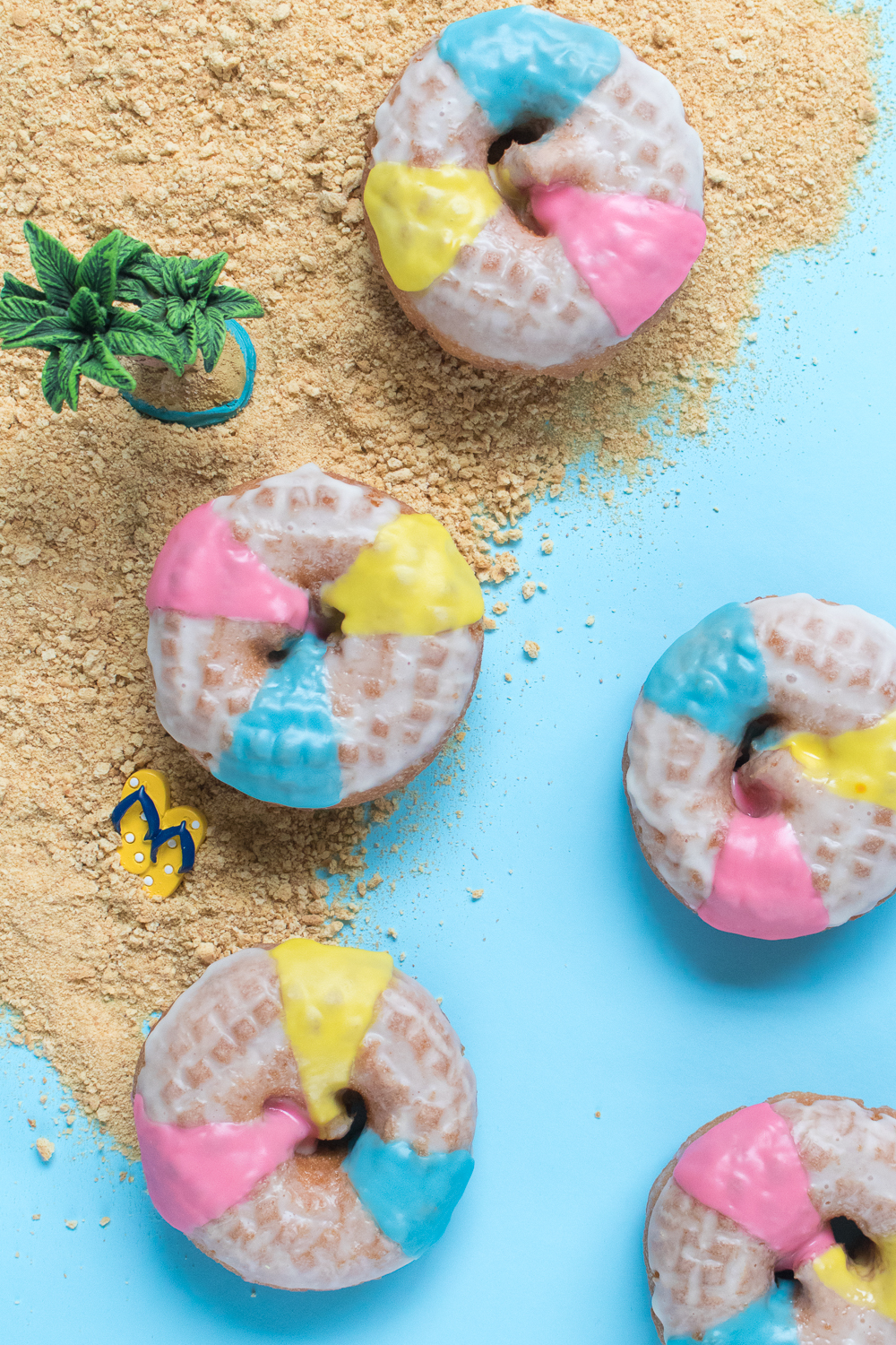 Beach Ball Donuts   Club Crafted