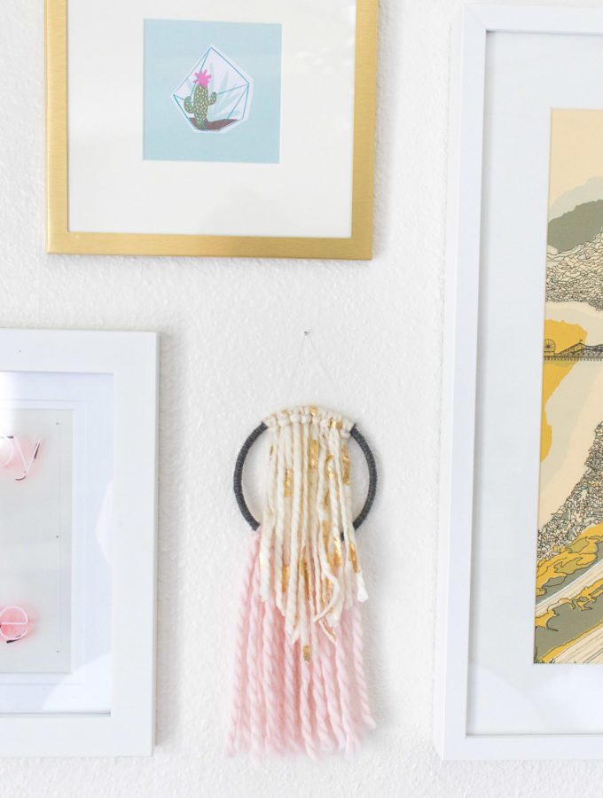DIY Simple Wall Hanging