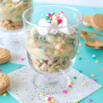 Cake Batter Pudding Cups
