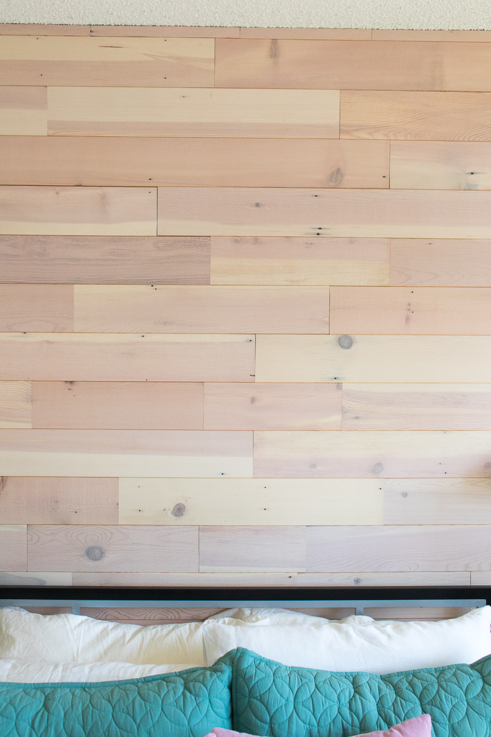 Renter Friendly Diy Plank Accent Wall Club Crafted