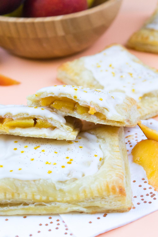 Peaches & Cream Pastries   Club Crafted