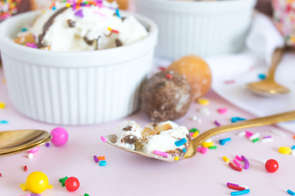 Coffee and Donuts Ice Cream | Club Crafted