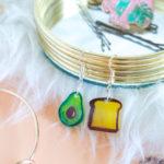 DIY Avocado Toast Earrings