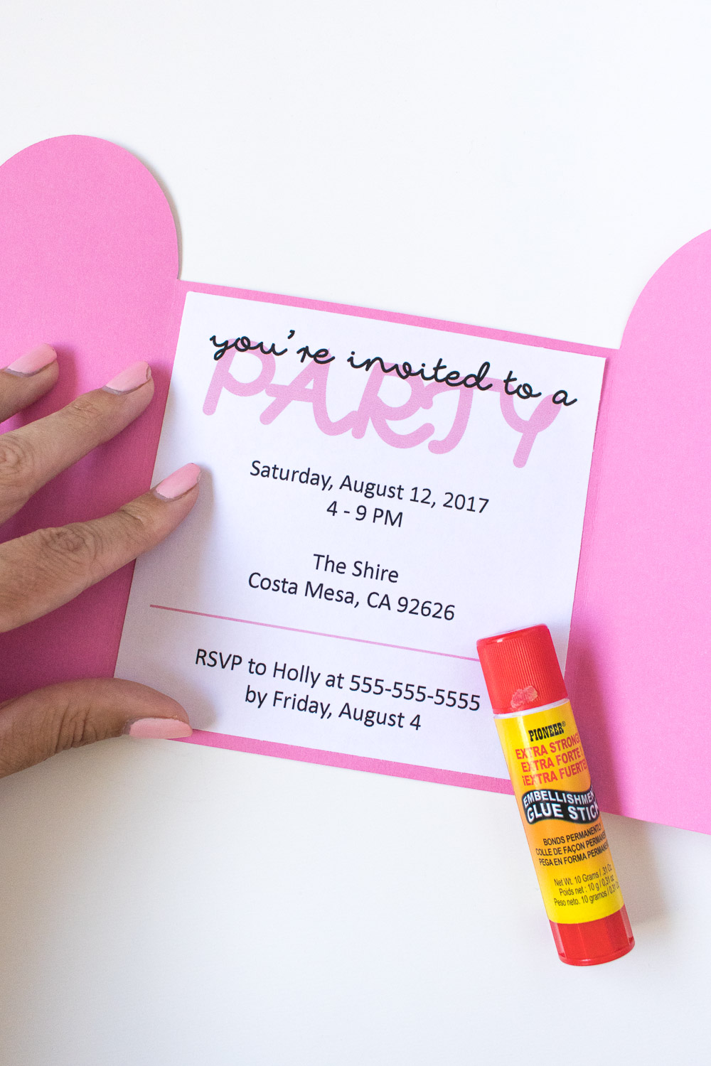 DIY Popsicle Invitations + Free Printable!   Club Crafted