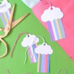 DIY Rainbow Gift Tags