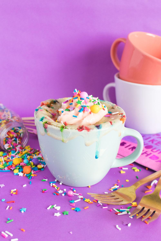 Funfetti Mug Cake for One   Club Crafted