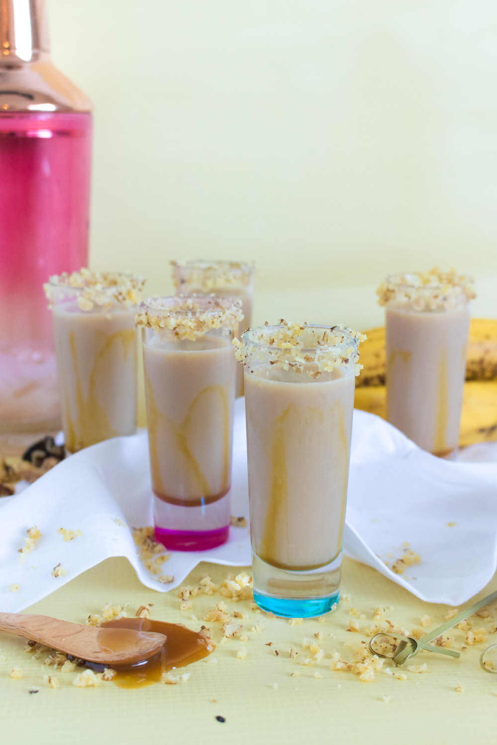 Bananas Foster Shots | Club Crafted