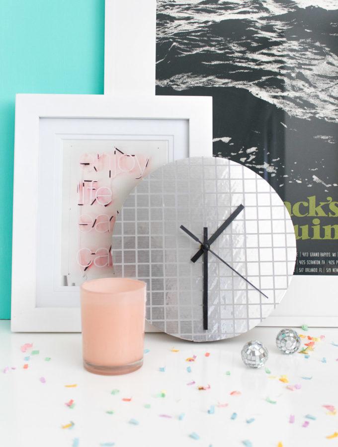 DIY Disco Ball Clock
