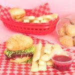 Donut Burgers + Cookie Fries