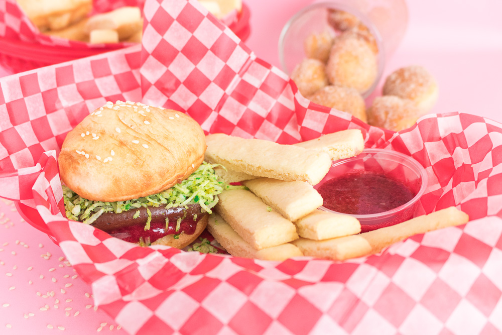 Donut Burgers + Cookie Fries   Club Crafted